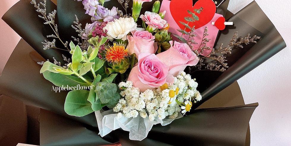 Pink Flutter Petal Bouquet