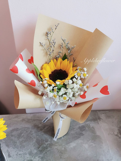 The Sunflower Posy