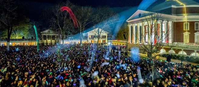 The University of Virginia's Lighting the Lawn Unifies the Community