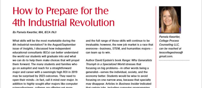 Part II, Skills for the 4th Industrial Revolution