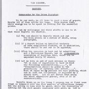 Churchill on 'Brevity' Before Writing
