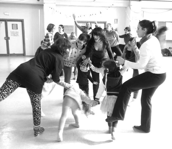 Danza en familia... y en palabras