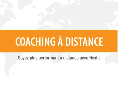 Coaching sportif à distance.