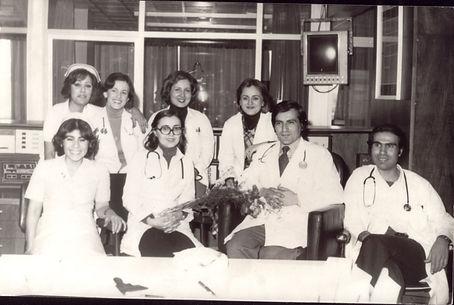 Prof.Dr. Ferruh Korkut'un başasistanlık dönemi, İstanbul Tıp Fakültesi Kardioloji ABD, Koroner yoğun bakım