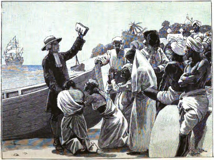Missionnaire danois à Tranquebar