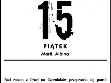Kartka z kalendarza - dzień 46, 47, 48 i 49 - Powstanie Warszawskie