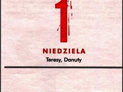 Kartka z kalendarza - ostatnie dni 62 i 63 - Powstanie Warszawskie