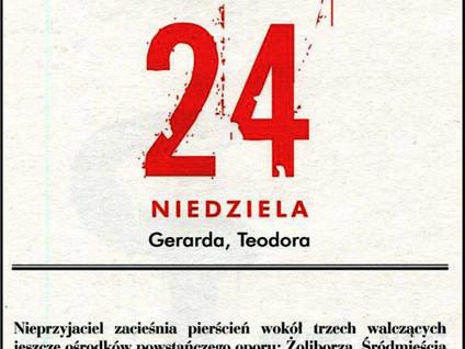Kartka z kalendarza - dni 55-61 - Powstanie Warszawskie