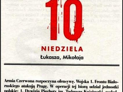 Kartka z kalendarza - dzień 41 i 42  - Powstanie Warszawskie