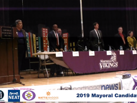 [VIDEO] Mayoral Candidate Forum at Northeast High School.