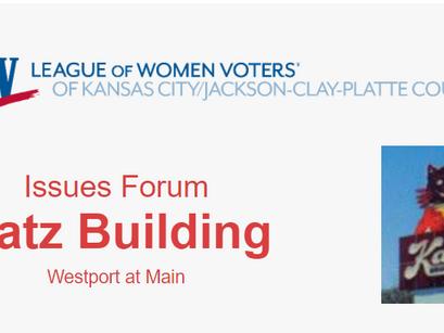 Issues Forum: Katz Development at Westport & Main