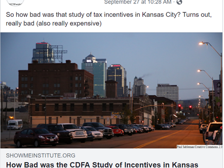 Kansas City Missouri taxpayers paid thousands of dollars for nothing.