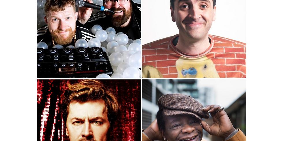 RODE COMEDY FESTIVAL - Stephen K Amos, Mike Wozniak, Spencer Jones, Christmas & Hobbit