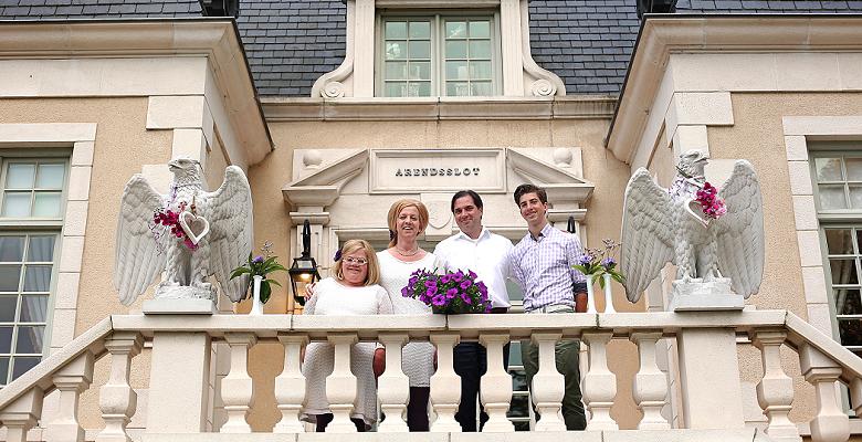 Familie Bosman heet u een Warm Welkom op het Arendsslot, een kasteel om met velen te delen