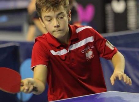 Dobry występ zawodników JKTS Jastrzębie Zdrój na 2019 ITTF  Polish Junior & Cadet Open