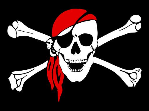 Piratas entrando pelo cano!