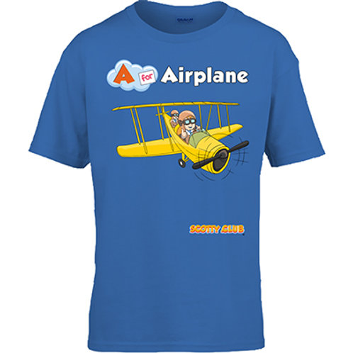A for Airplane Tshirt