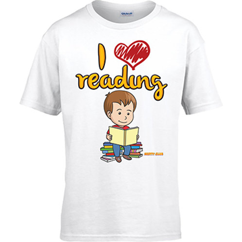 I Love Reading Tshirt