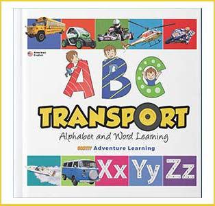 Alphabet Transport Book For Preshool