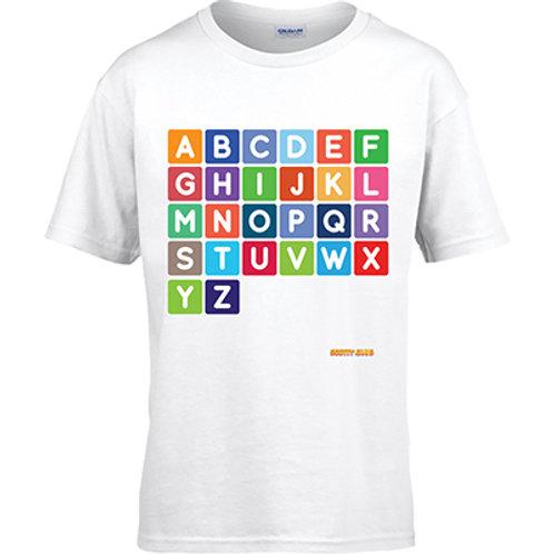 Alphabet Square Tshirt