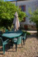 Le jardin, La Halte du Tacot