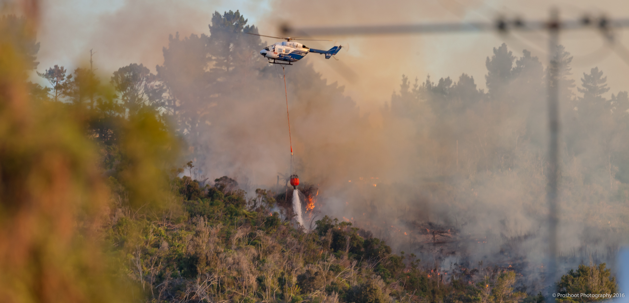 Upper Hutt Scrub Fire Images 5627