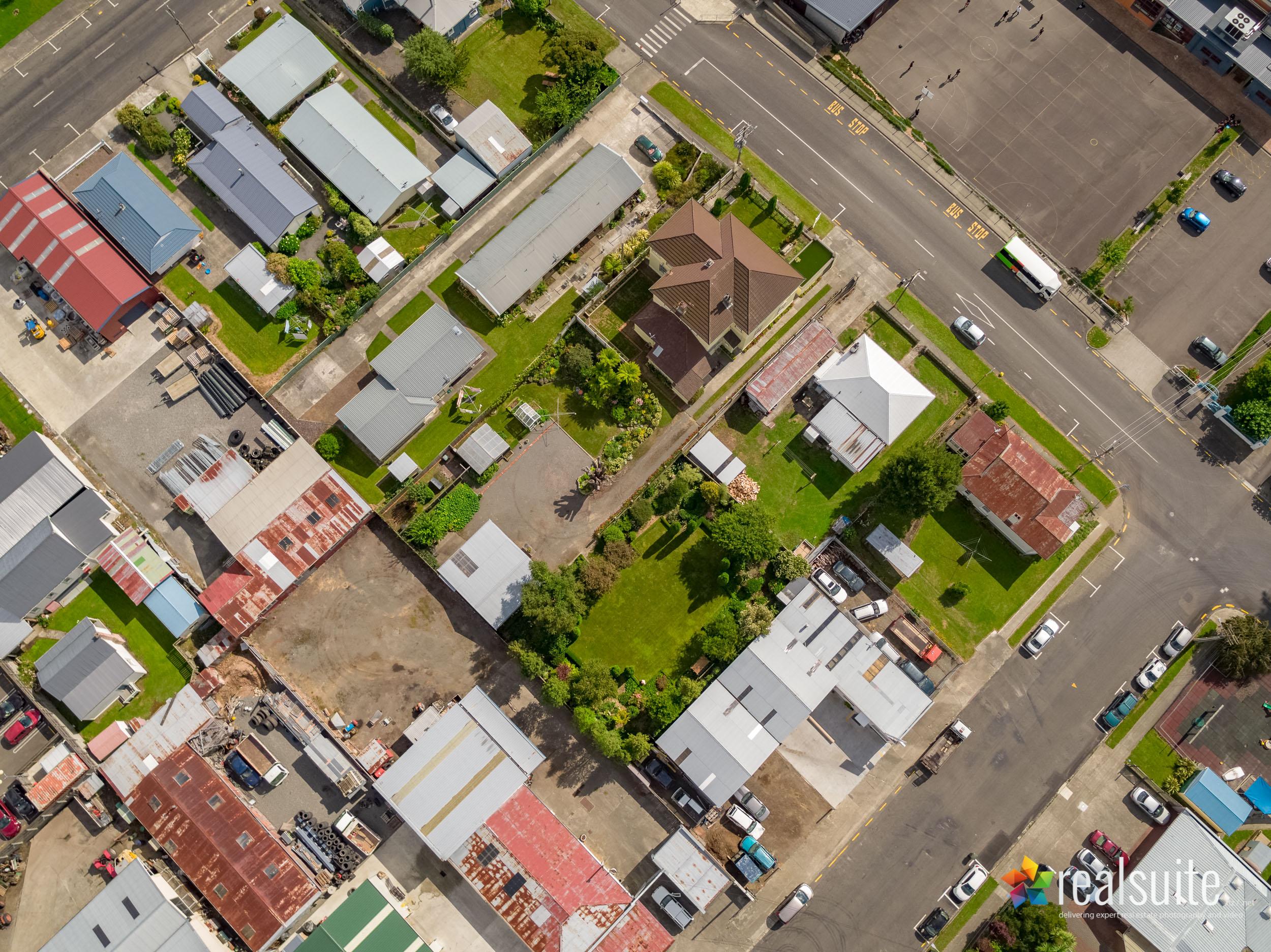 23 Kokako Street, Taihape, Aerial 0069