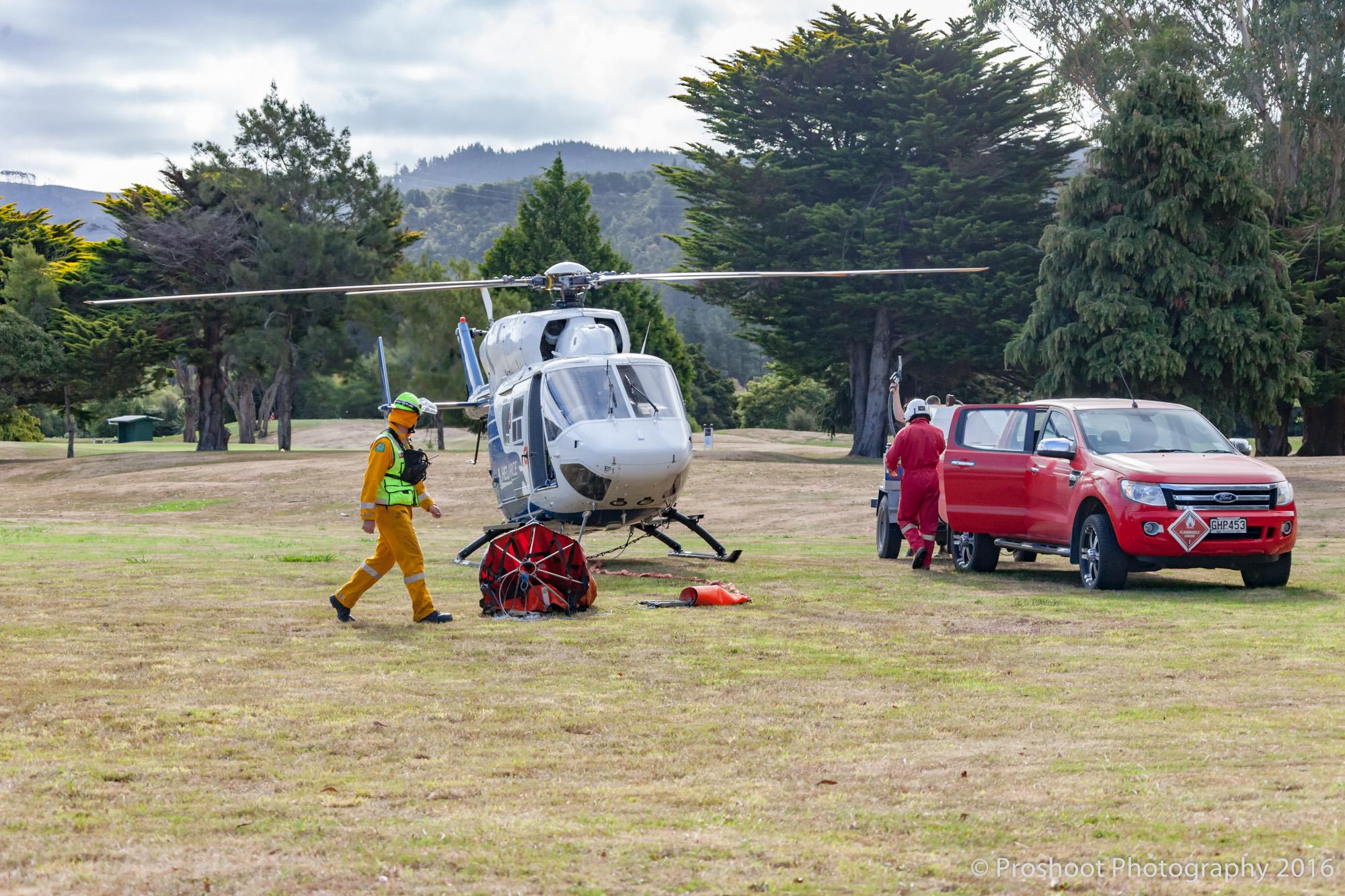 Te Marua Rural Fire 9366