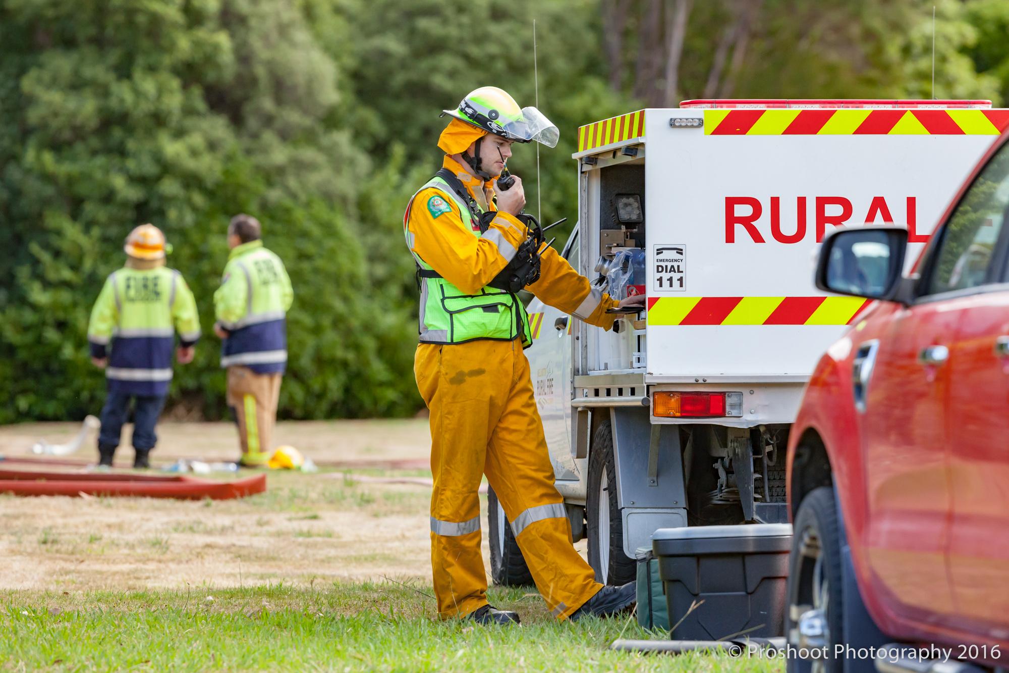 Te Marua Rural Fire 9268