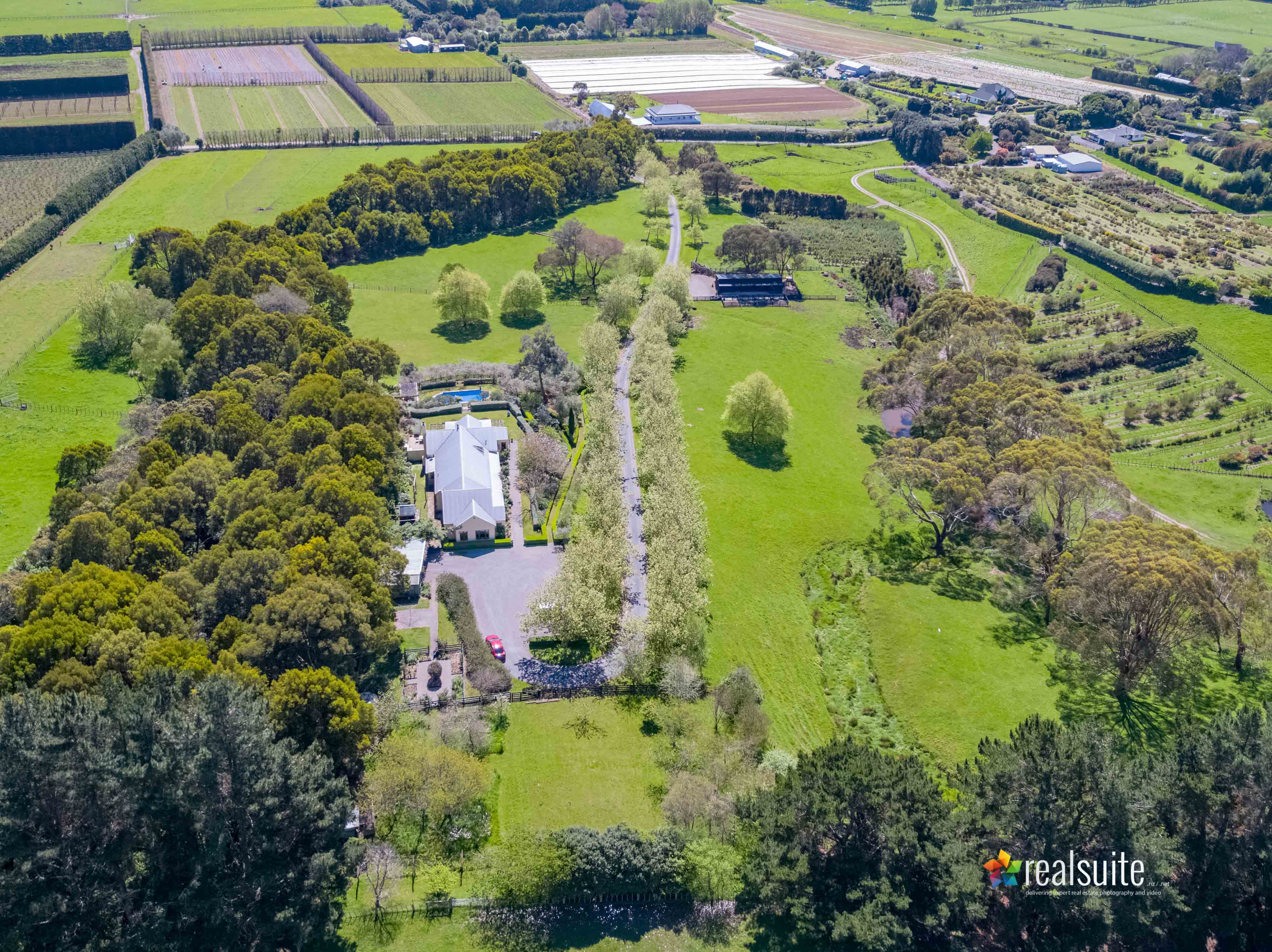 181 Settlement Road, Te Horo Aerial 0626
