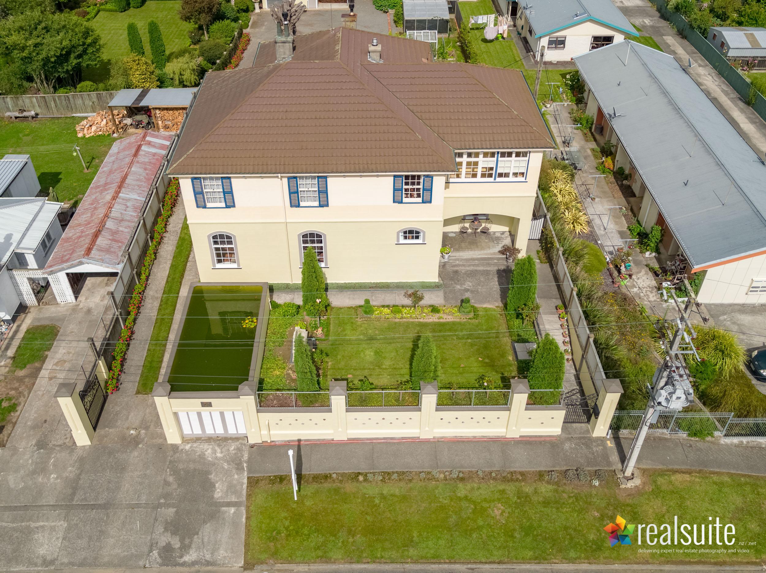 23 Kokako Street, Taihape, Aerial 0129