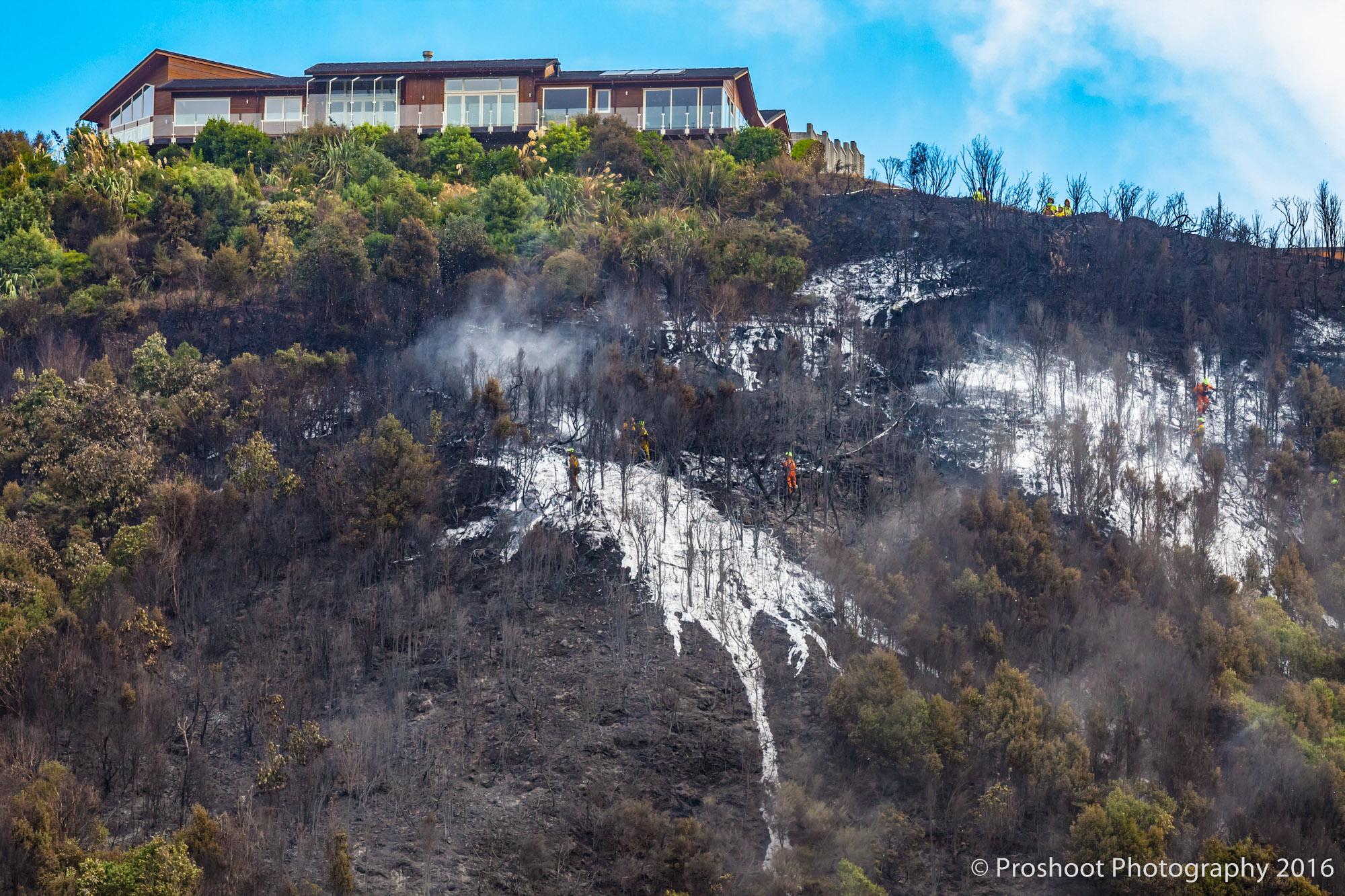 Te Marua Rural Fire 9494