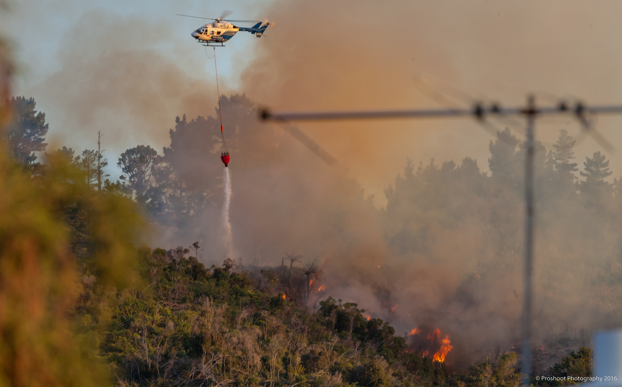 Upper Hutt Scrub Fire Images 5640
