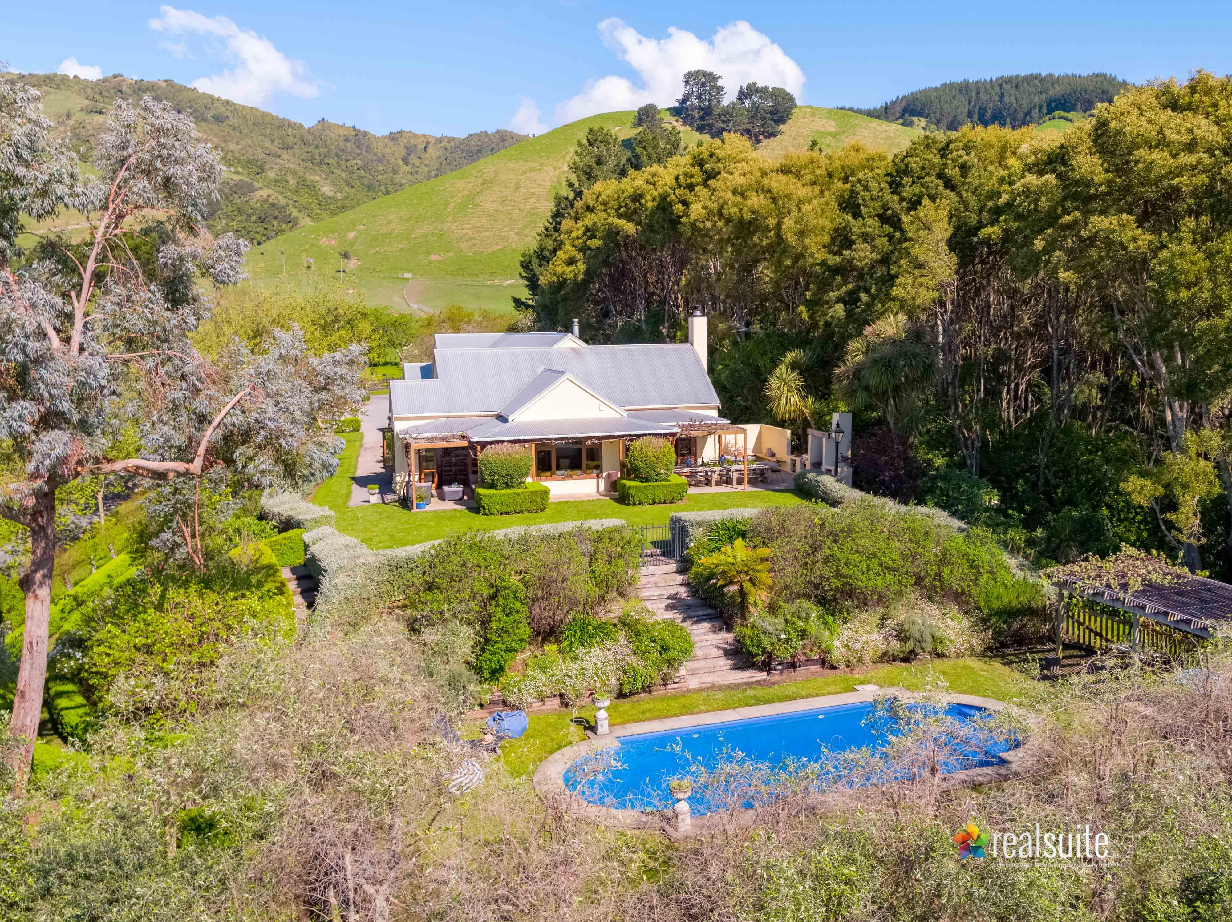 181 Settlement Road, Te Horo Aerial 0704