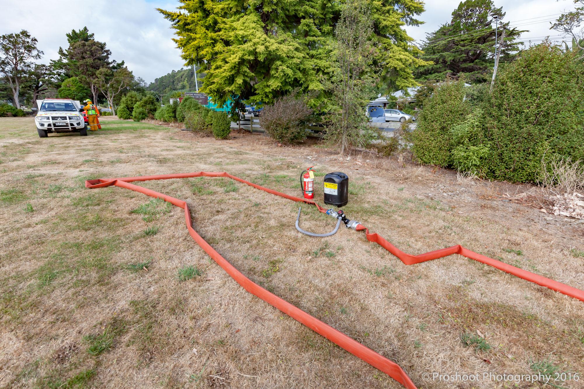 Te Marua Rural Fire 3227
