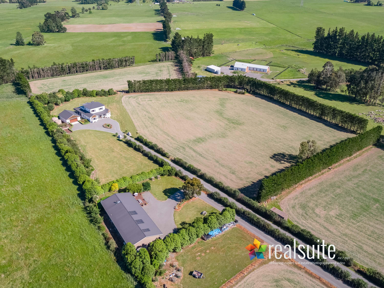 308 Fabians Rd, Greytown Aerial 0414