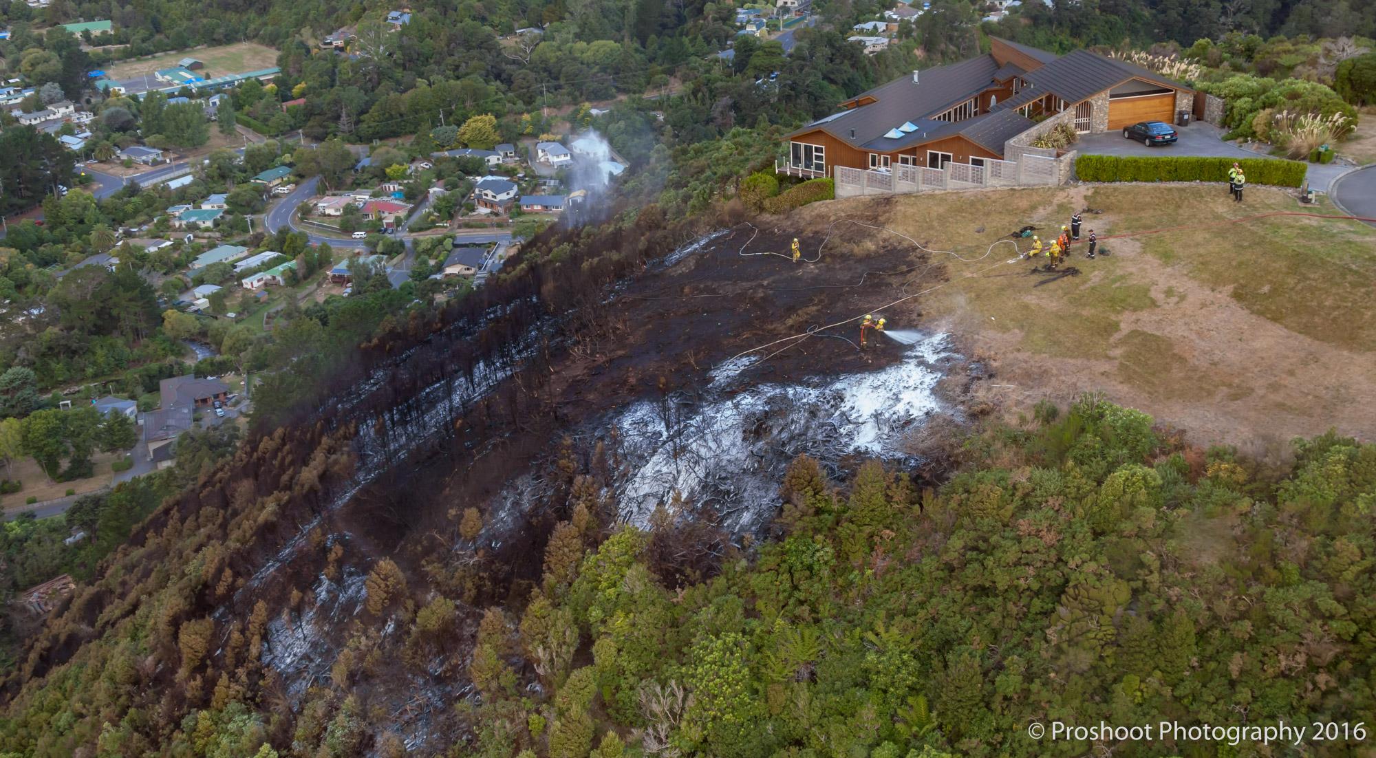Te Marua Rural Fire 9697