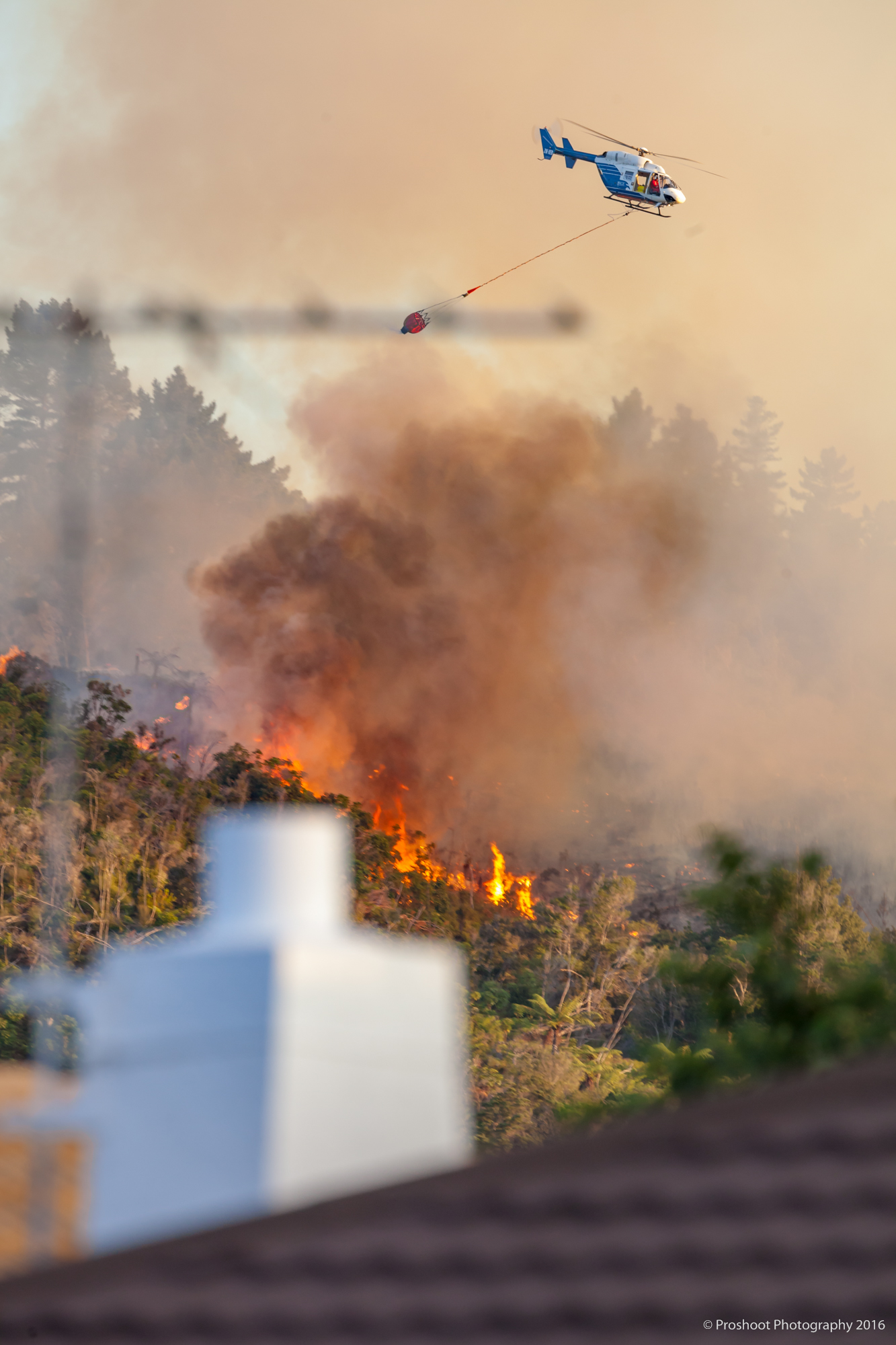 Upper Hutt Scrub Fire Images 5647