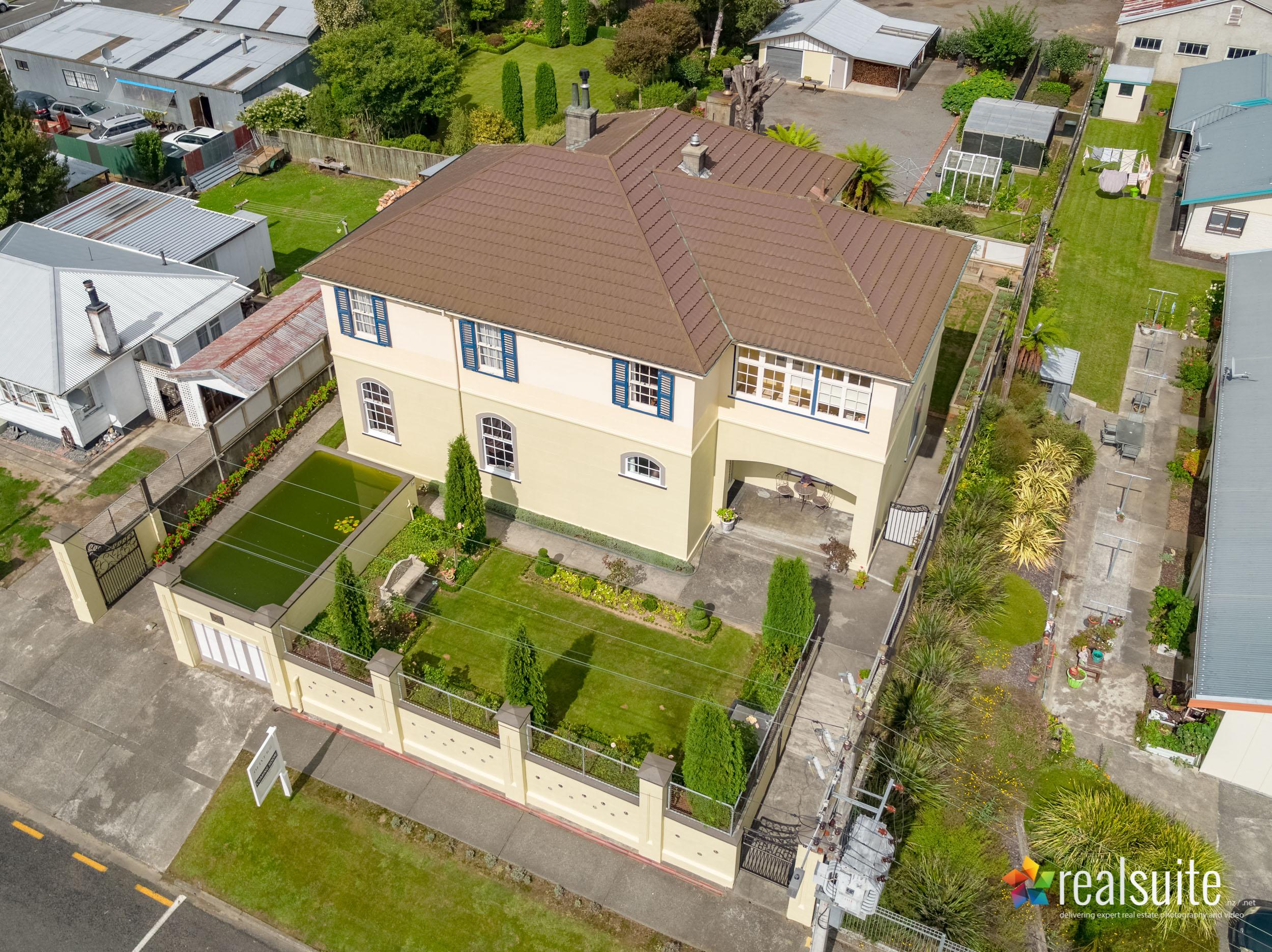23 Kokako Street, Taihape, Aerial 0130