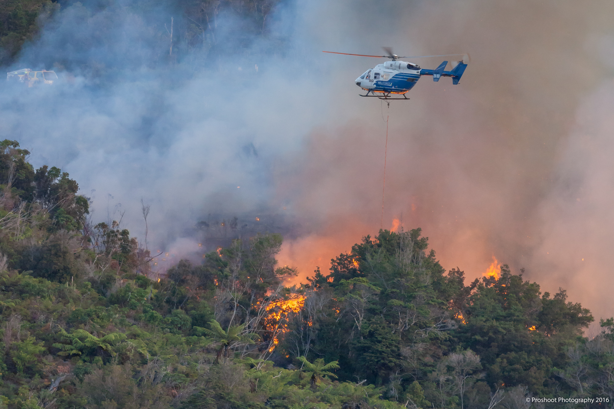 Upper Hutt Scrub Fire  5967