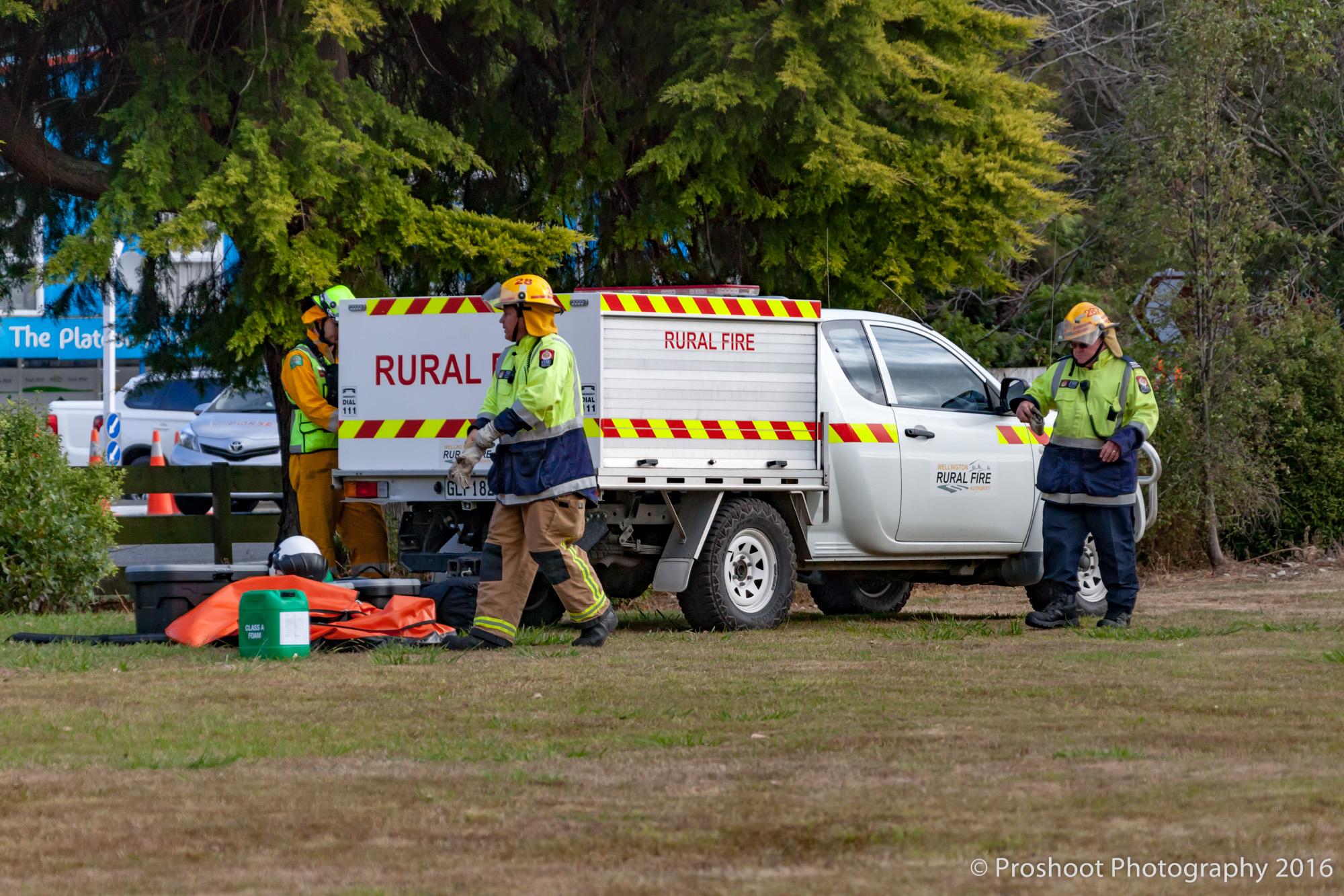Te Marua Rural Fire 9376