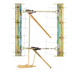 Strainer-Board-Wedge-[1132]-Shackle-Type-[b], Strainrite, Robertson, Engineering, product, photograp