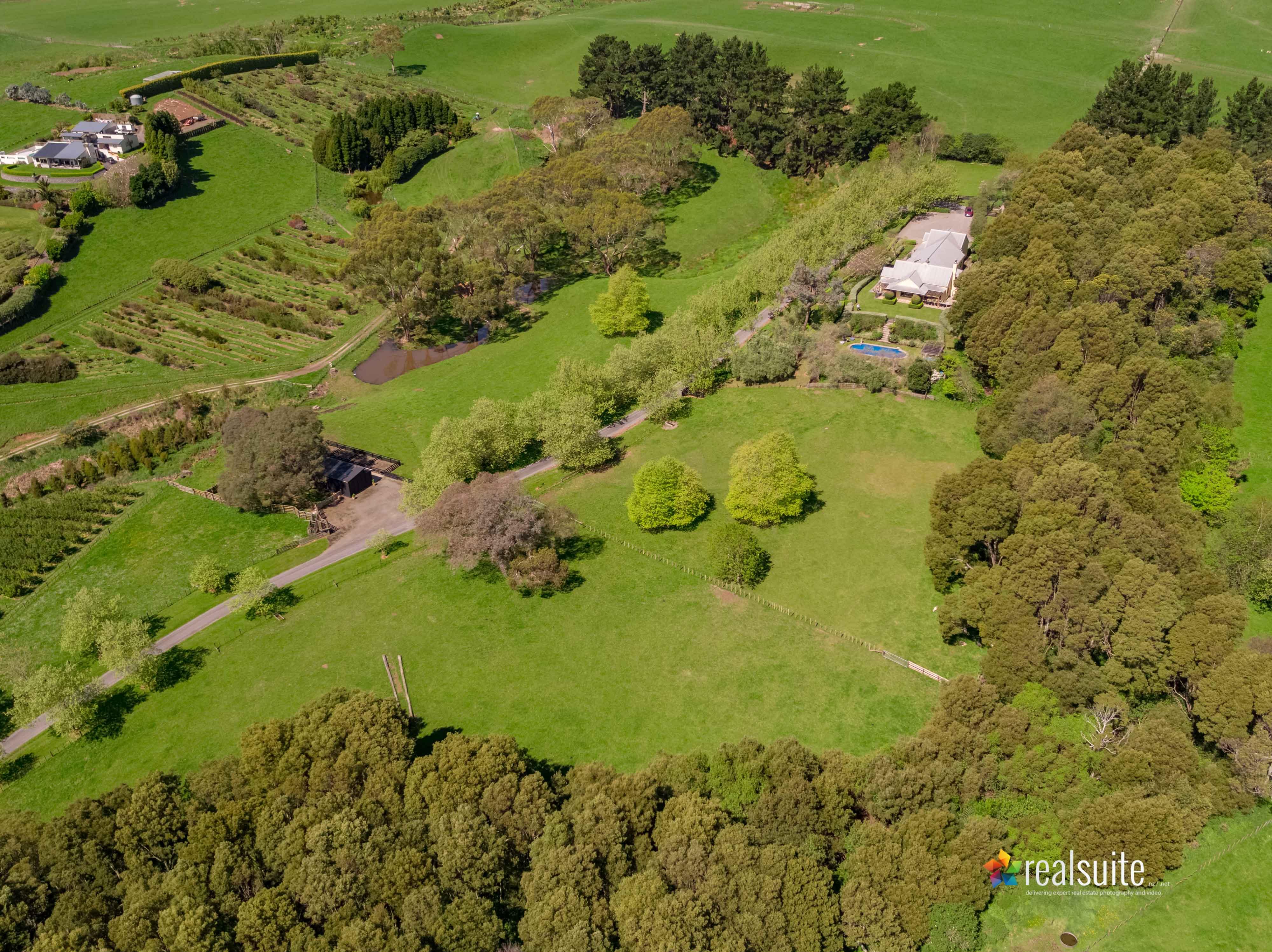 181 Settlement Road, Te Horo Aerial 0657