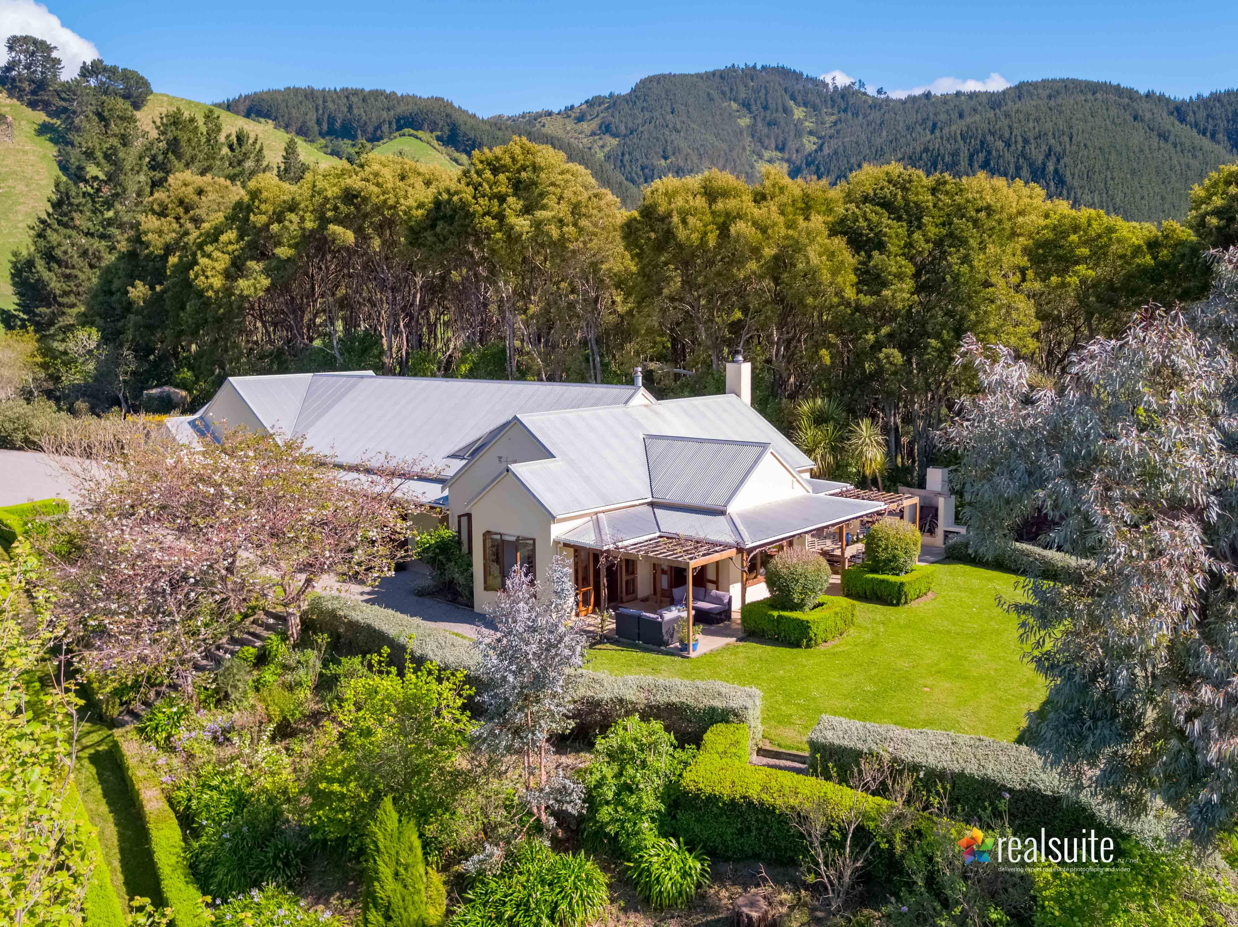 181 Settlement Road, Te Horo Aerial 0707