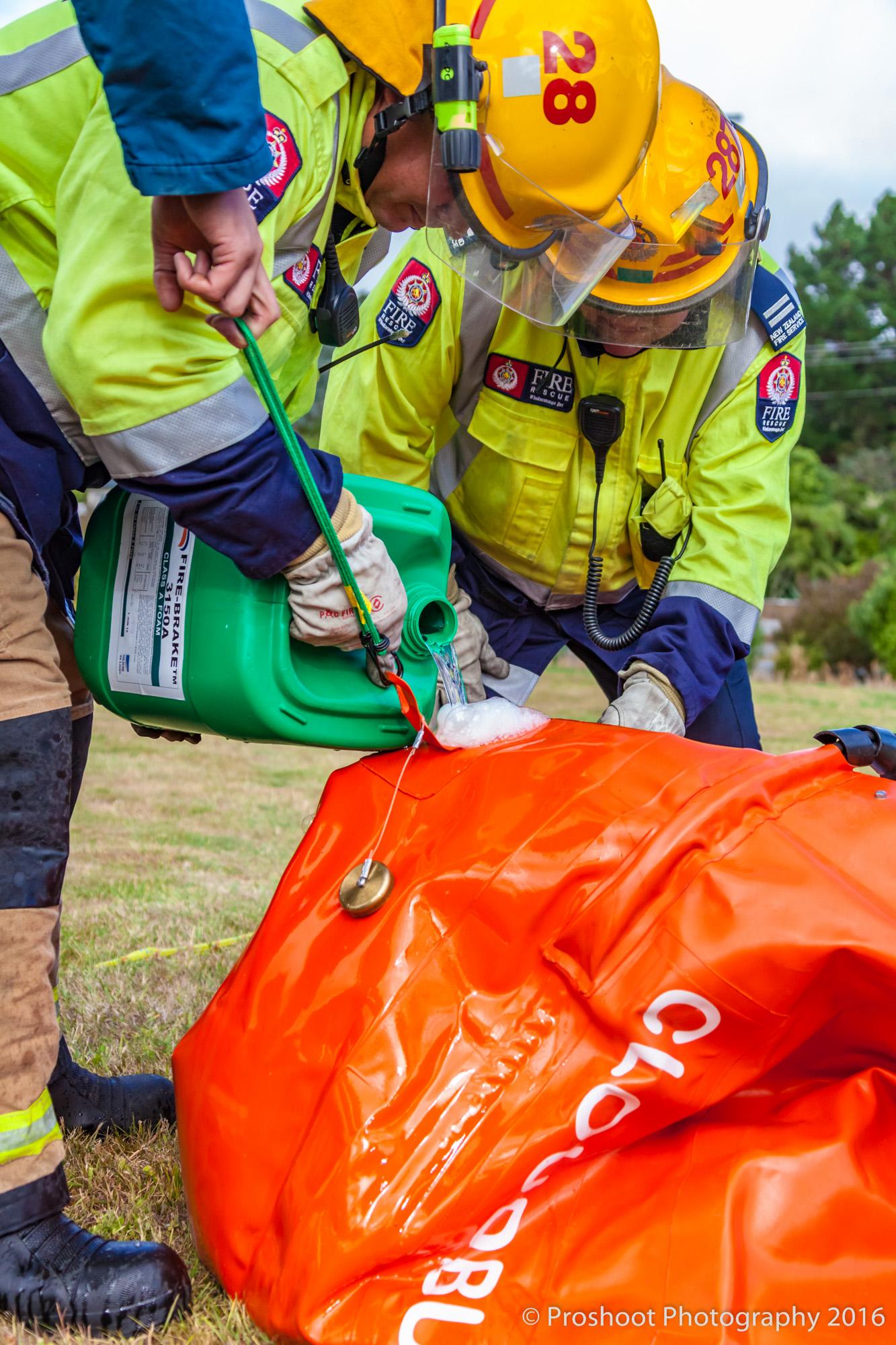 Te Marua Rural Fire 9405