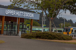Dzine Train Station Sign 7689