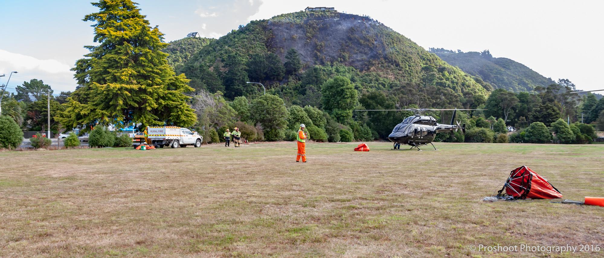 Te Marua Rural Fire 9374