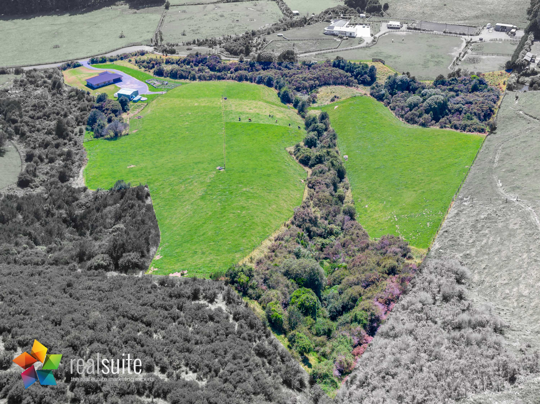 123e Johnsons Road, Whitemans Valley Aerial 0832-Boundary
