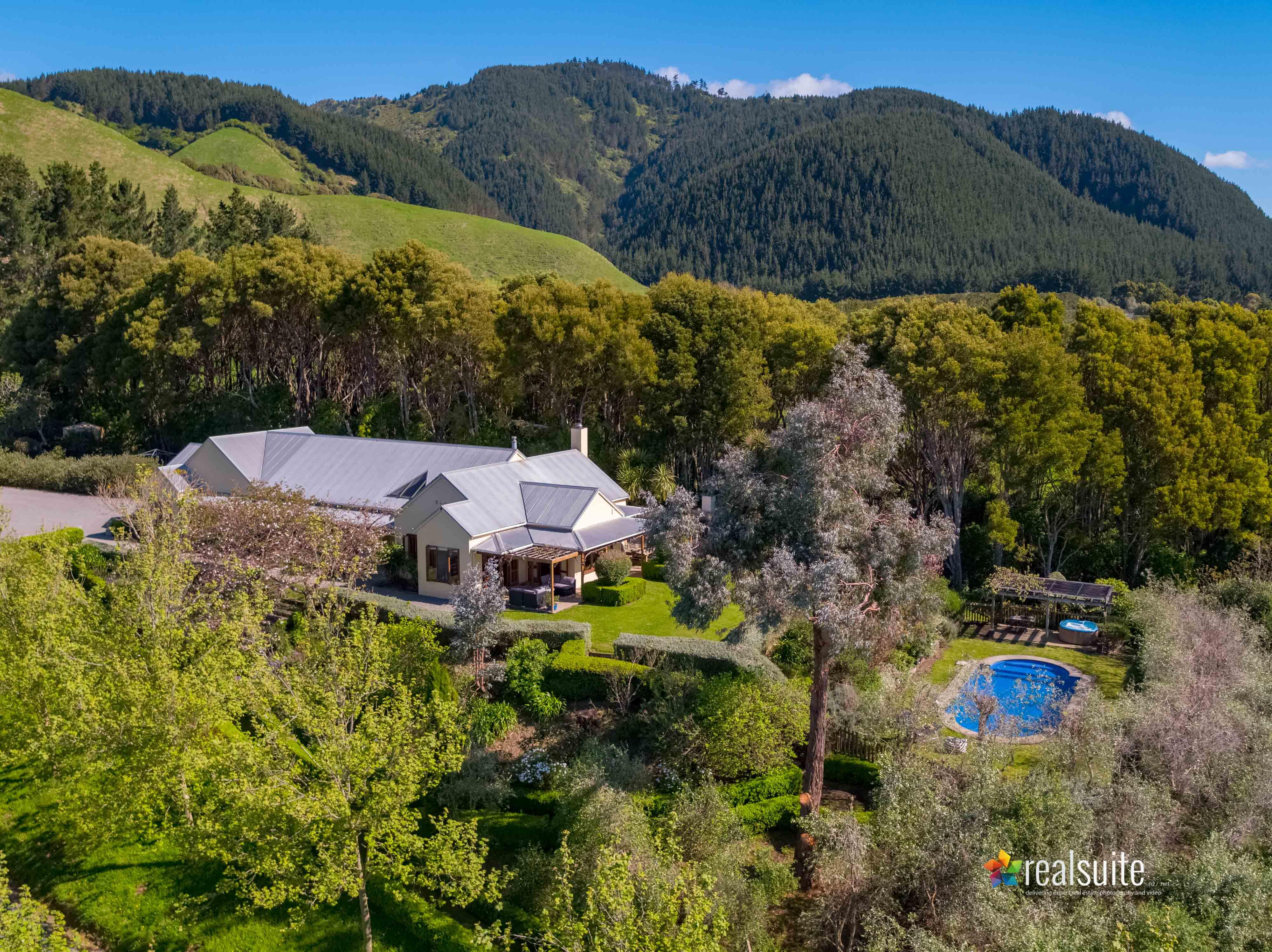 181 Settlement Road, Te Horo Aerial 0711