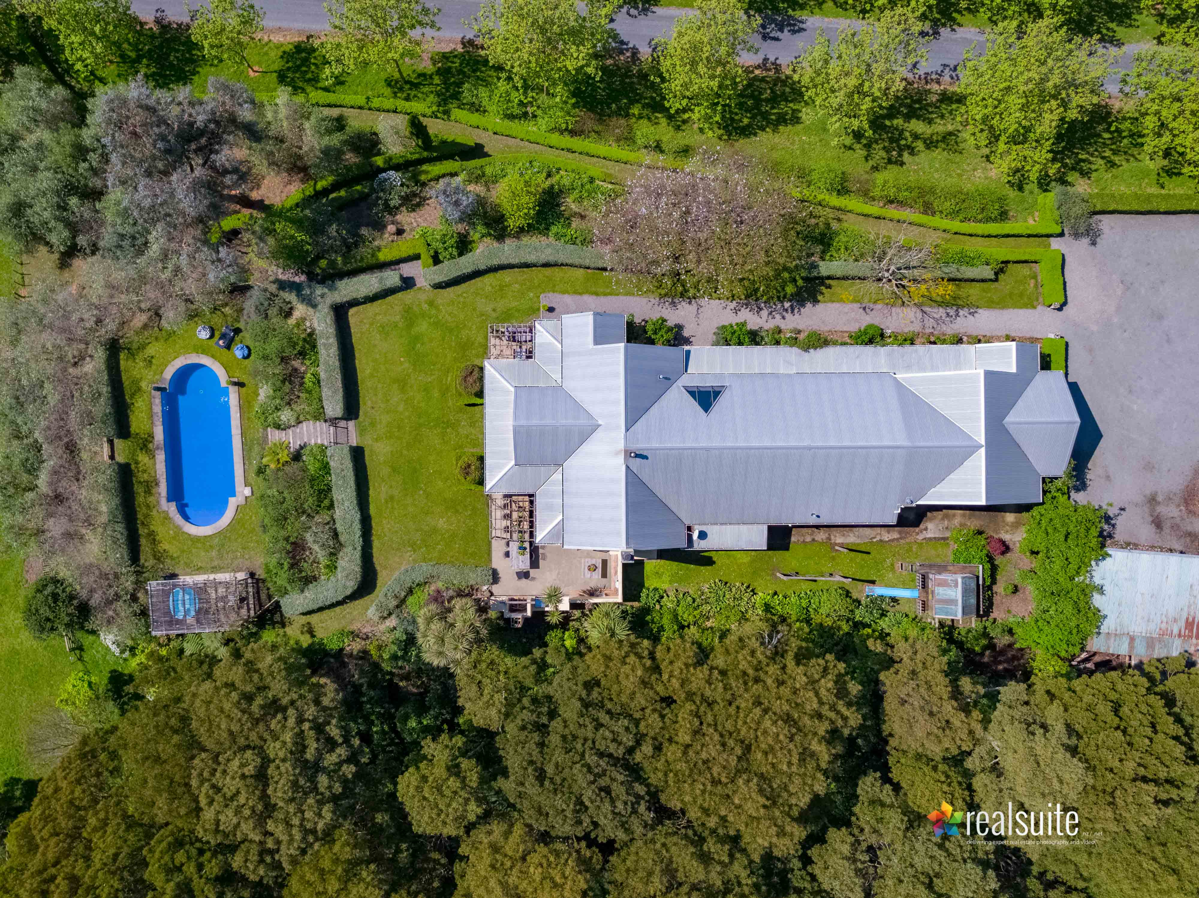 181 Settlement Road, Te Horo Aerial 0622